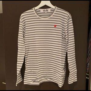 PLAY Comme des Garçons long-sleeves shirt!
